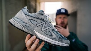 update: AFTER WEARING NEW BALANCE 990V4 FOR ALMOST 1 YEAR! (Pros & Cons)
