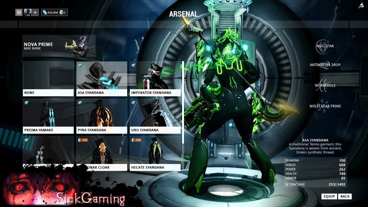 Warframe Nova Prime Fashion – Fanboying nova prime, soma prime, & vasto prime it's about that time again!