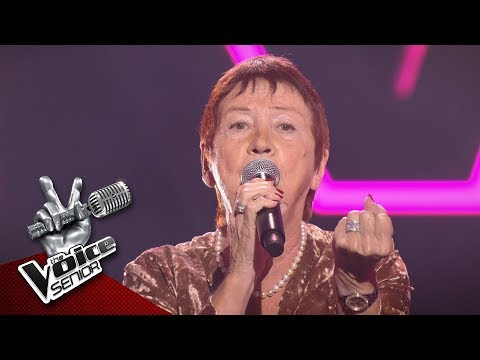 Viviane - 'La Vie En Rose'   Blind Audition   The Voice Senior   VTM