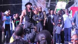 Melle Mel Performing at the Million Youth Rally 2013