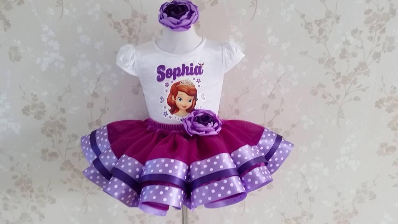Sofia The First Birthday Tutu