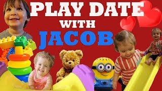KIDS PLAY DATE WITH JACOB!