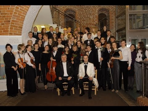 Minsk Youth Symphony Orchestra in Malbork - concert (1/2)