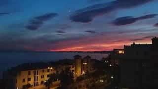스페인 여행-말라가 숙소 야경