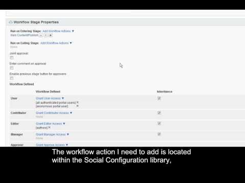 Social Media Publisher V1.0 for Web Content Manager V7.0