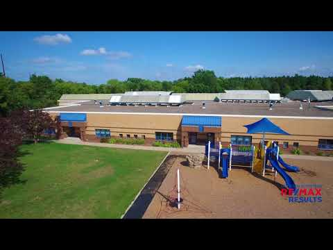 Aerial Video of Gleason Elementary School - Plymouth, MN