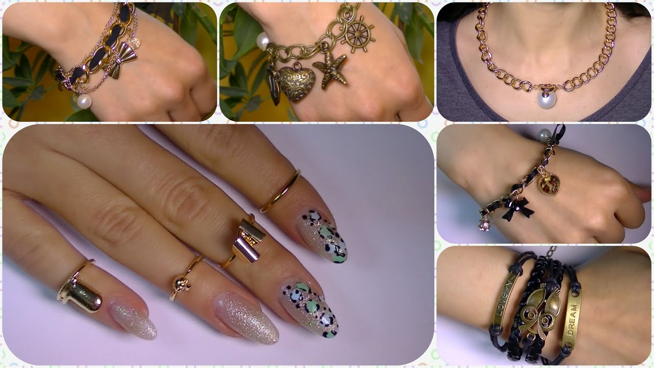 Pretty Jewelry , rings ,bracelets ,necklaces, from rosegal com - YouTube