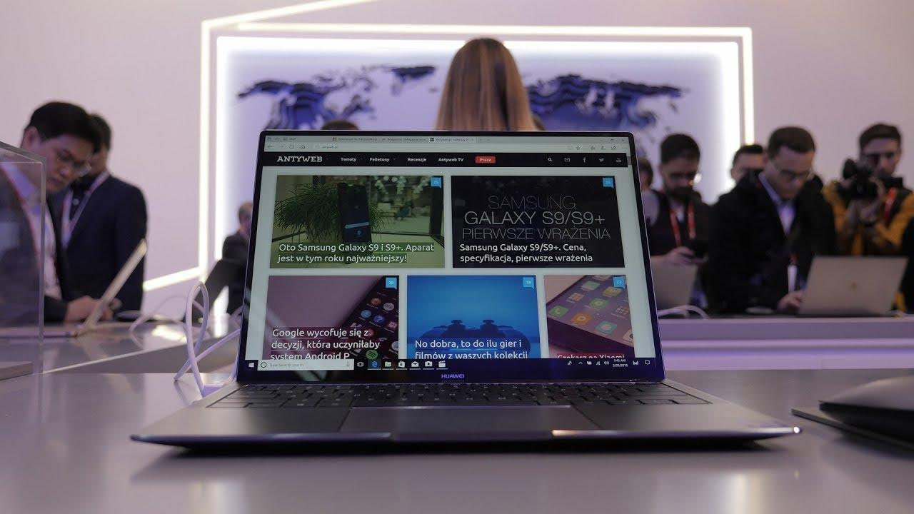 Matebook X Pro wygląda tak świetnie jak MacBooki i ma kamerę…w klawiaturze
