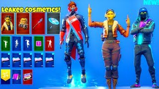 *NEW* Skins & Emotes LEAKED..! (FREE Glider, Female Ceeday Skin, Old School) Fortnite Battle Royale