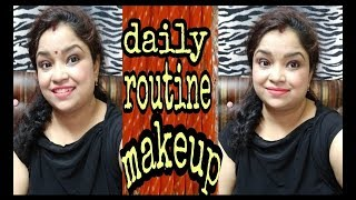 Daily routine makeup tutorial ll mom beauty shalu ll 2018