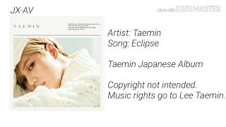 Cover images Taemin Japanese Album - Eclipse (Audio)