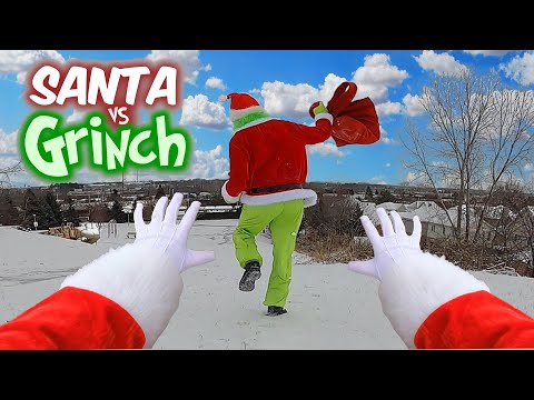 Santa VS Grinch - Parkour POV
