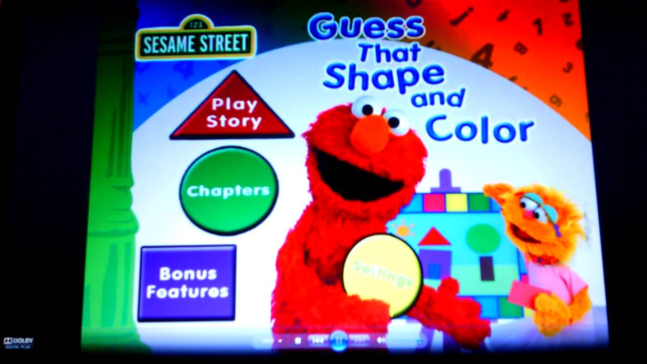Sesame Street- Guess that Shape and Color - YouTube