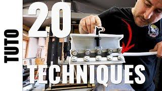 20 techniques et outils pour couper et préparer un tube - Tuto plomberie LJVS
