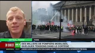Mobilisation des sapeurs-pompiers : «On veut des réponses à nos revendications»