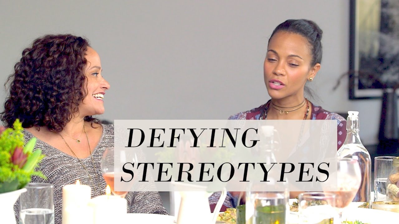 Defying Stereotypes | Rosé Roundtable with Zoe Saldana, ft. Judy ...