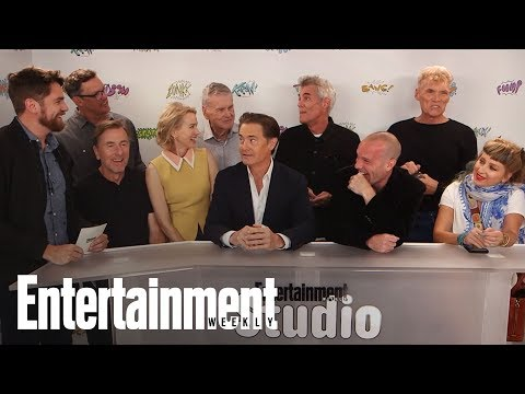 Twin Peaks' Stars Break Down The Revival's Craziest Scenes | SDCC 2017 | Entertainment Weekly
