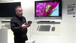 Panasonic Television - Miracast Demonstration