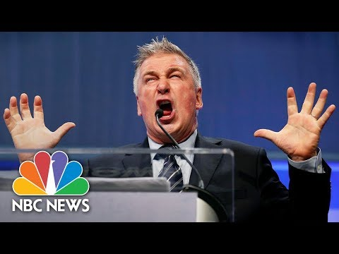 Alec Baldwin Channels President Donald Trump For Iowa Democrats | NBC News