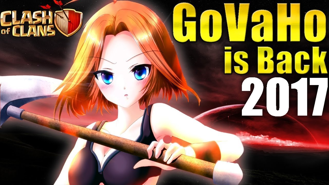 Download th9 powerful govaho and govawi war attack / 100% working strategy /th9 3 star war attack