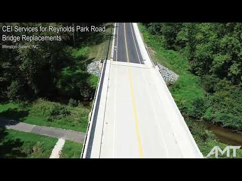 Reynolds Park Road Bridge Replacements, Winston-Salem, NC