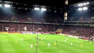 Köln gegen Dynamo Dresden 2012