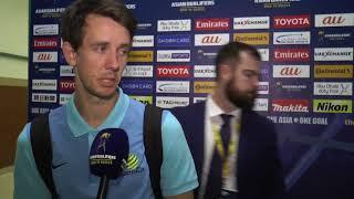 post match interview robbie kruse