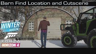 Forza Horizon 4 - Winter Season Barn Find Location and Cutscene