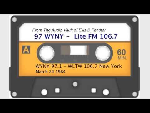WYNY 97  WLTW LiteFM 1067 New York  March 1984