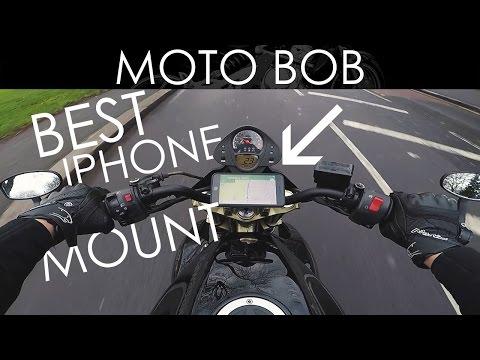 newest c9997 076ed Quad Lock: The Best Motorcycle iPhone Handlebar Mount! - YouTube