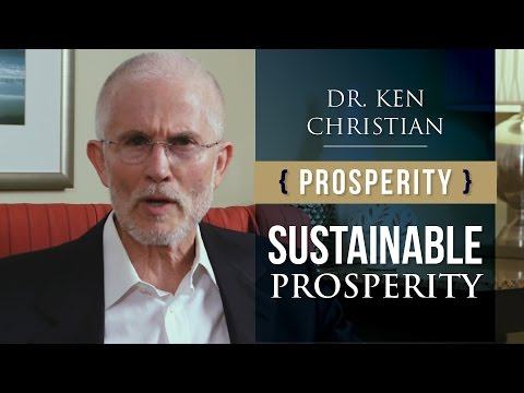 Achieving Prosperity: How to Sustain It