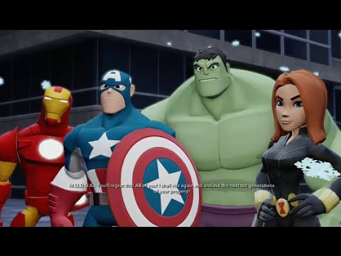disney infinity 20 the avengers playset walkthrough