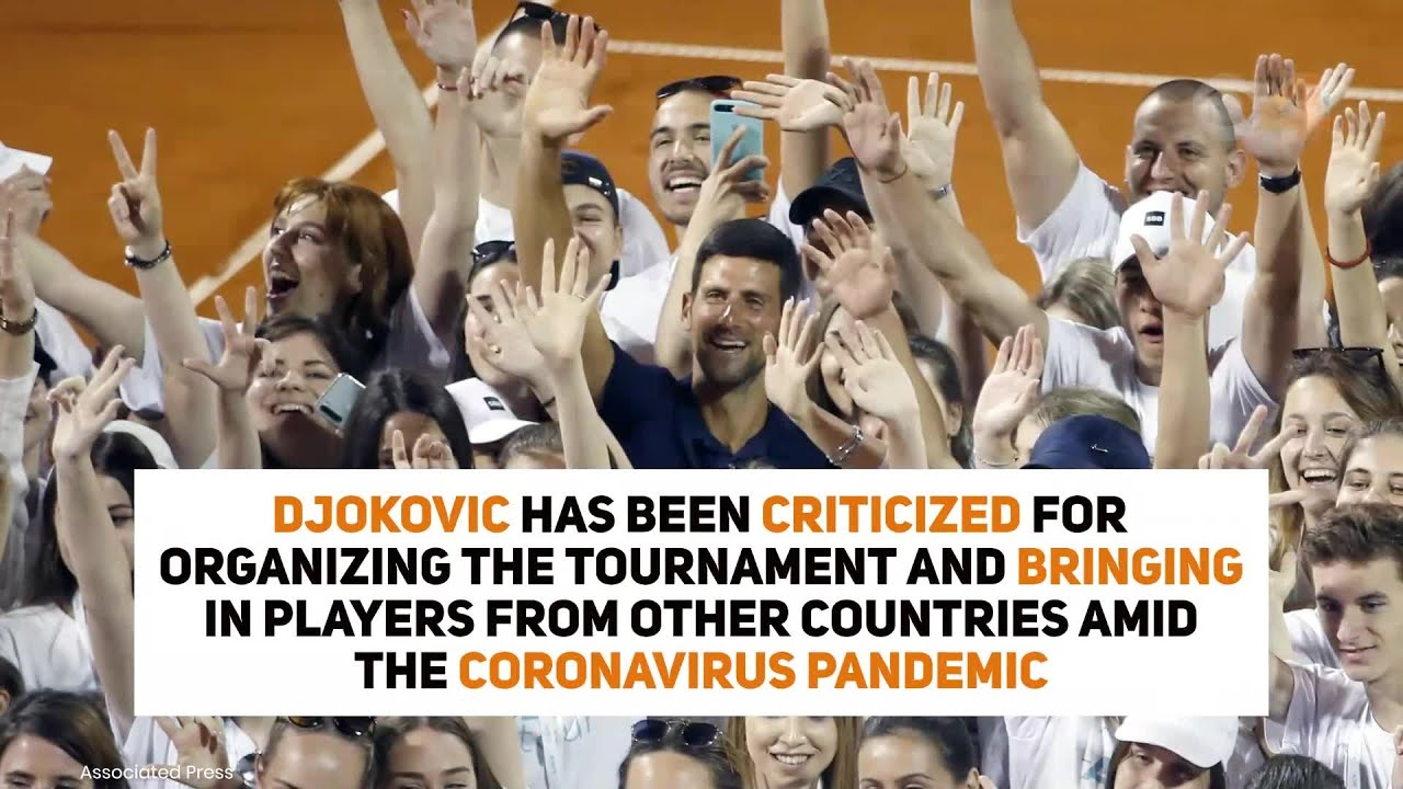 Top-ranked tennis star Novak Djokovic tests positive for the ...