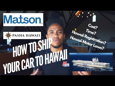 HOW TO SHIP YOUR CAR TO HAWAII (REGISTRATION & SAFETY CHECK INFO)