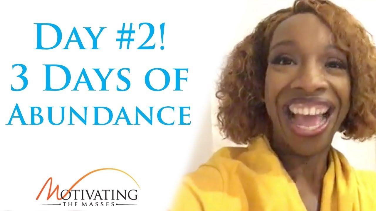Lisa Nichols - 3 Days of Abundance - Day #2