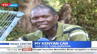 My Kenyan Car: He first fabricated a plane, the genius has now fabricated a car