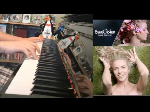 Gabriela Gun (Gunčíková) - I Stand - Eurovision 2016 CZECH REPUBLIC (Piano Cover by Amosdoll)