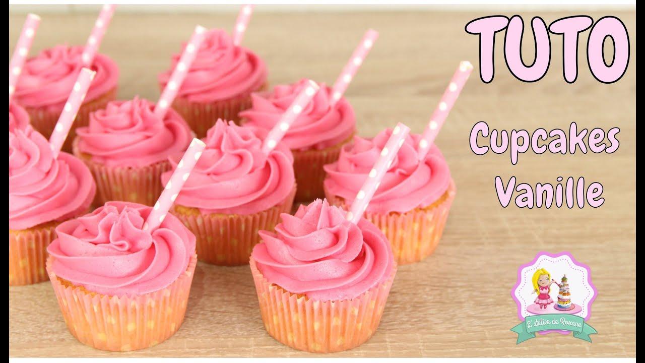 Recette cupcakes vanille moelleux facile et rapide youtube - Recette de cupcake facile ...