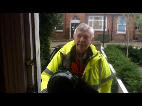 Tom Courtenay's pizza delivery service