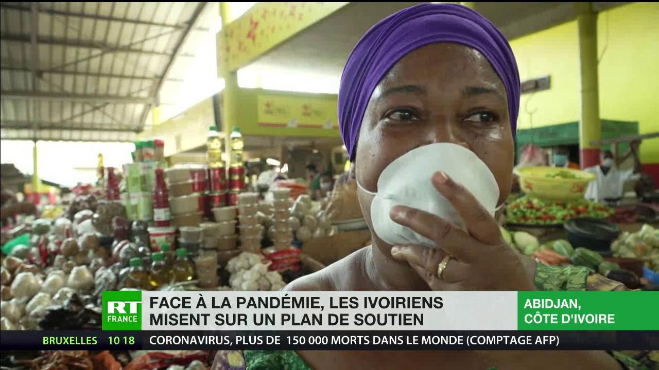 Face à la pandémie, les Ivoiriens misent sur un plan de soutien
