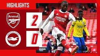 HIGHLIGHTS | Arsenal vs Brighton (2-0) | Premier League | Pepe on fire