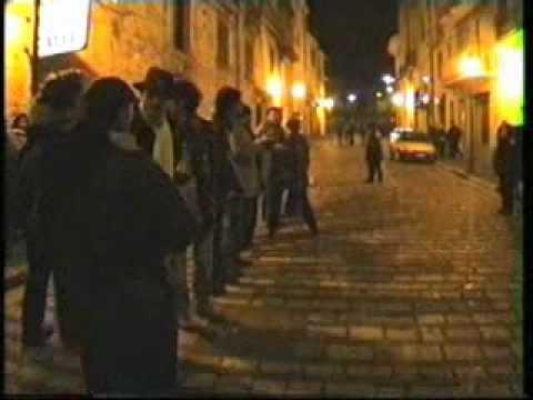 Gambatesa - Maitunat - notte 31 dic 1996 2^ parte