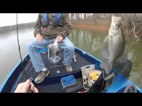 Crappie fishing at Lake Hartwell