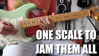 One Scale To Jam Them All - How To Solo On Guitar For Beginners