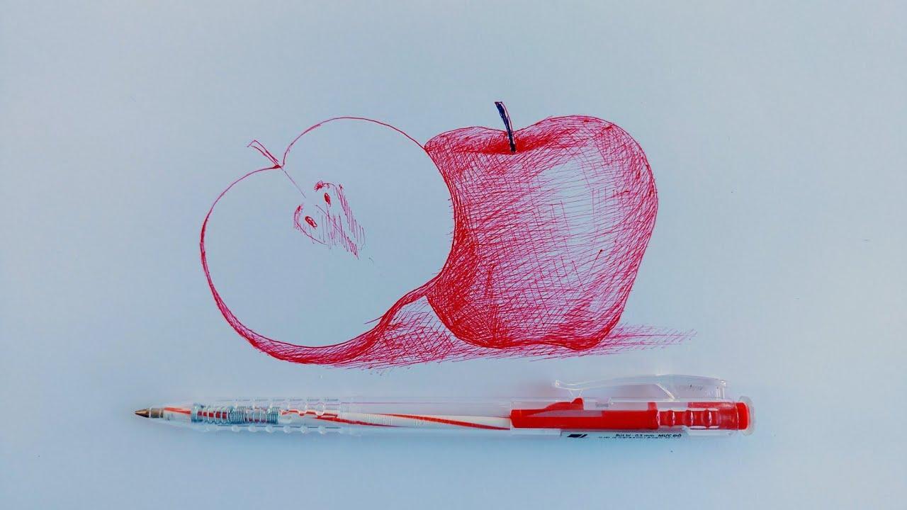 cách vẽ tuyệt vời bằng bút bi
