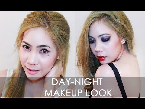 แต่งหน้ากลางวัน กลางคืน Day-night makeup look for viavanity ( collection brand)