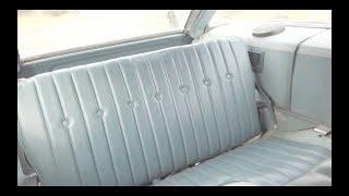1971-1976 GM Full-Size Wagon folding rear seats -Operation