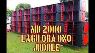 MD 2000 lagu Ora ono judule Sumbersewu Banyuwangi