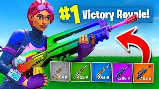 The RAINBOW BURST ONLY Challenge In Fortnite Battle Royale