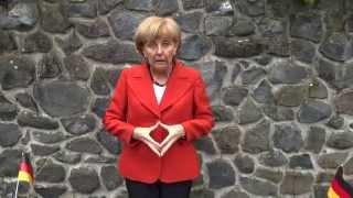 Angela Merkel Ice bucket challenge Angela die Zweite